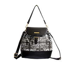 Lattice Back Pack Shoulder Bag