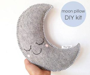 Moon Pillow DIY Kit