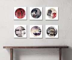 Set of 6 Hong Kong Themed Prints