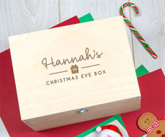 Personalized Teen Christmas Eve Box