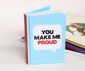 You Make Me Proud Hardback Book