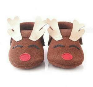 Rudolph Soft-Soled Leather Moccasins