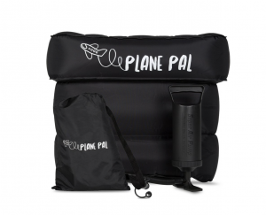 Plane Pal – Inflatable Airplane Seat Extender