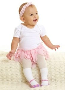 Scallop Skirt Short Sleeve Onesie
