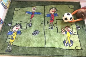 Rug designed By Your Special Boy