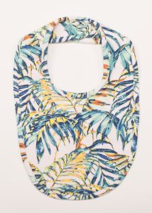 Hunter+Boo Bib in Palawan Print