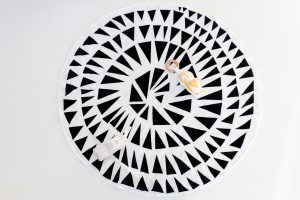 Little P  – Triangle Round Playmat