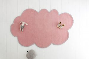 Little P – Silver Lining Cloud Rug