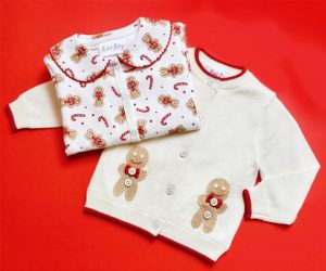 Gingerbread Cardigan And Babygro