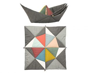 Play-Fold-Ship Blanket
