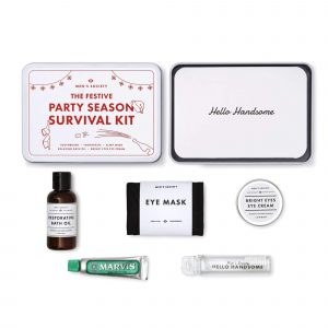 Men's Society Party Season Survival Kit