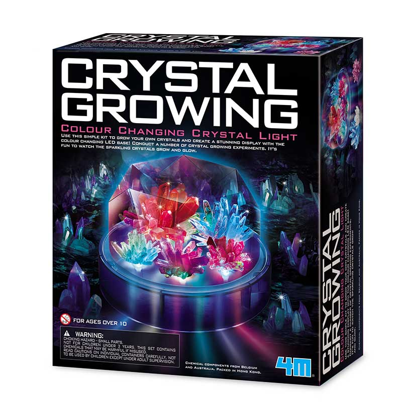 Crystal Growing – Colour Changing Crystal Light