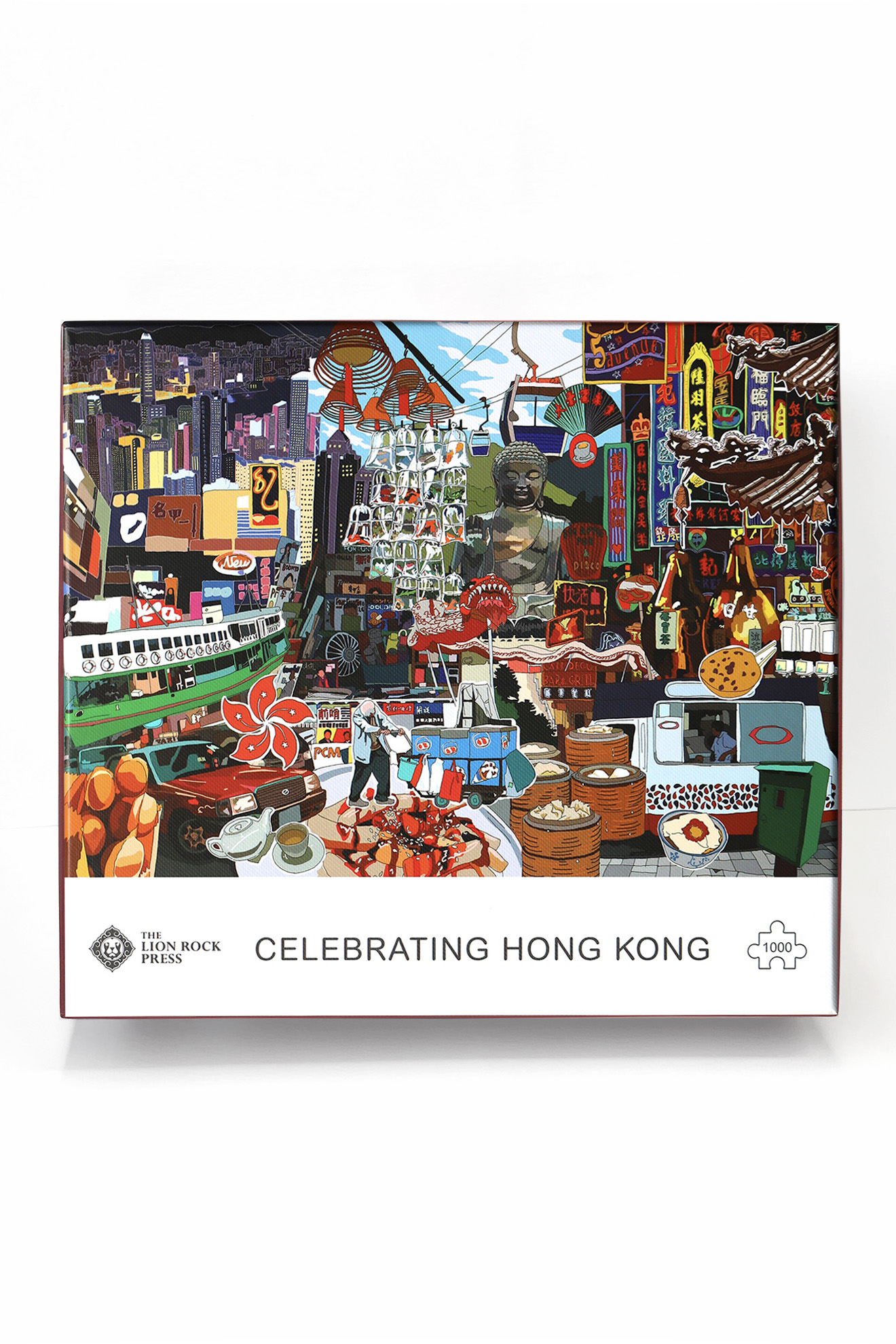 Hong Kong Puzzle By The Lion Rock Press