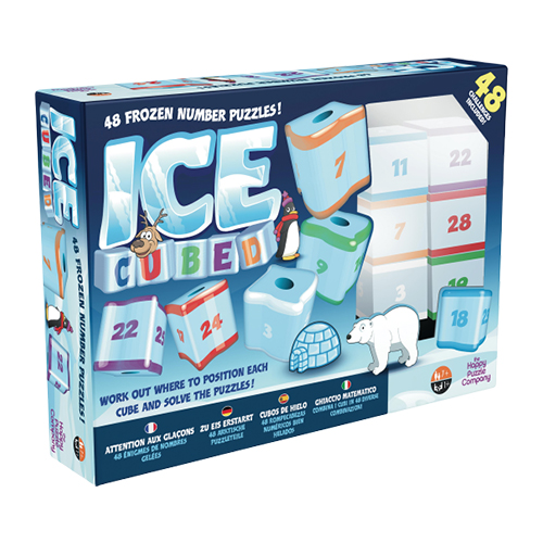 Math Puzzle – Happy Puzzle Company Ice Cubed