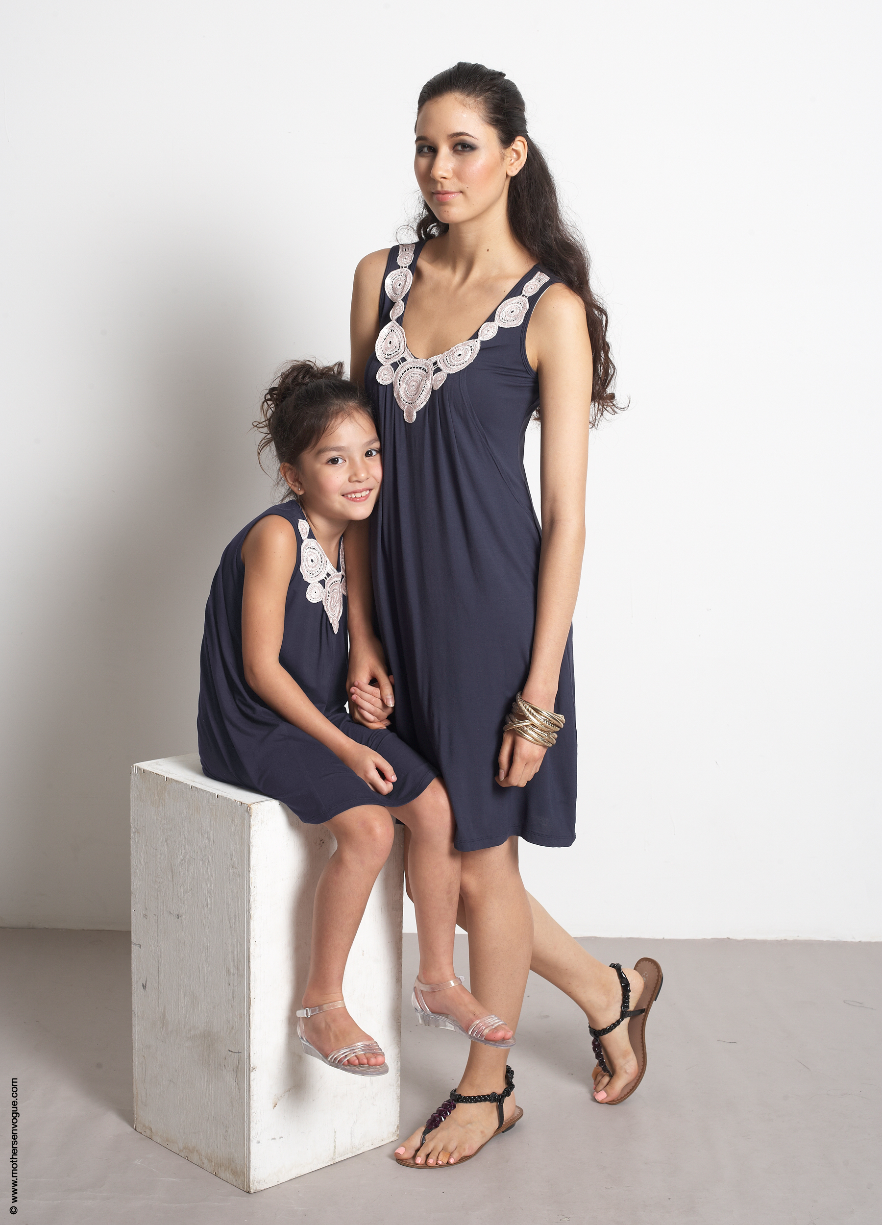 Matching Mom & Daughter Dress