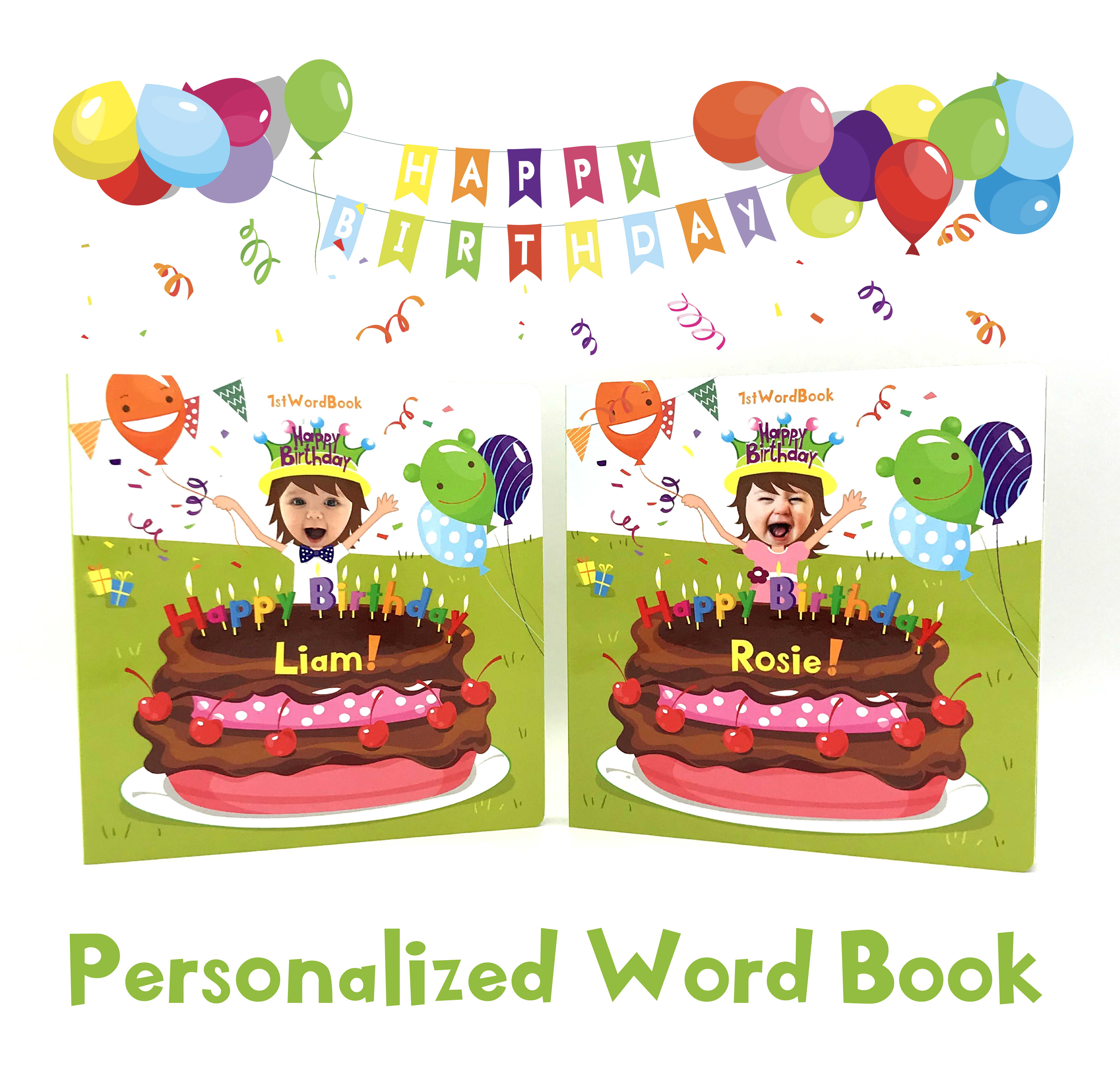 Personalized Word Books For Little Ones